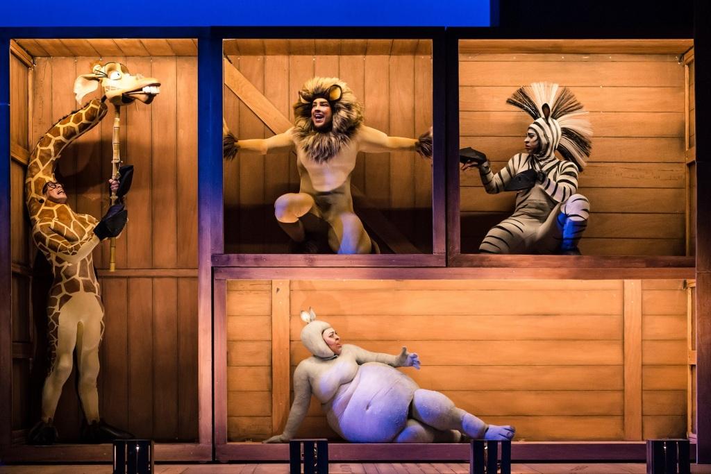 Madagascar the Musical - Jamie Lee-Morgan, Matt Terry, Antoine Murray-Straughan Timmika Ramsay