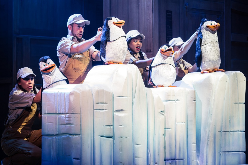 Penguins in Madagascar the Musical.